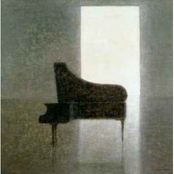 Tableaux nature morte - Tableau - Piano Room, 2005 - - Seligman, Lincoln