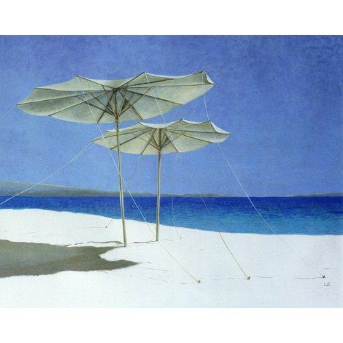 Tableau - Umbrellas, Greece, 1995 -
