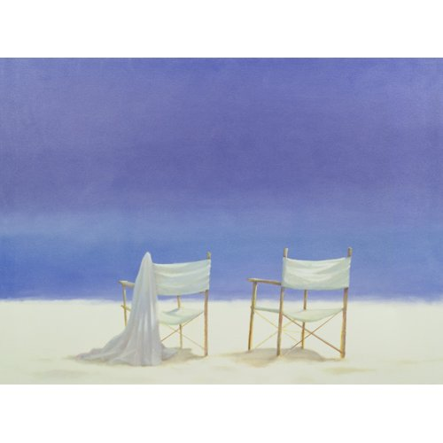 Tableau - Chairs on the beach, 1995 -