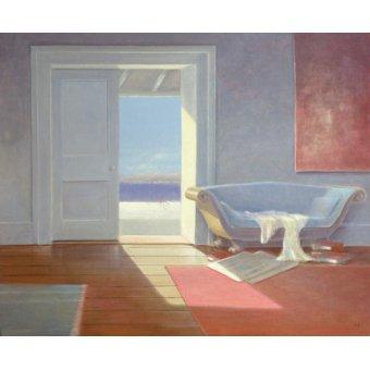 Tableaux de paysages marins - Tableau - Beach House, 1995 - - Seligman, Lincoln