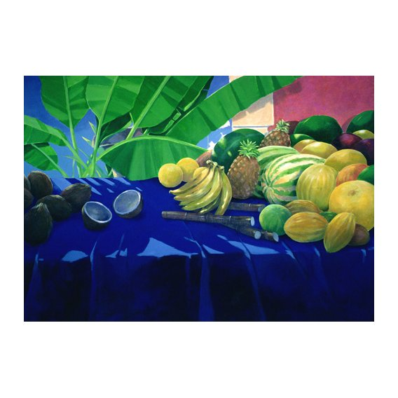 Tableau - Tropical Fruit -