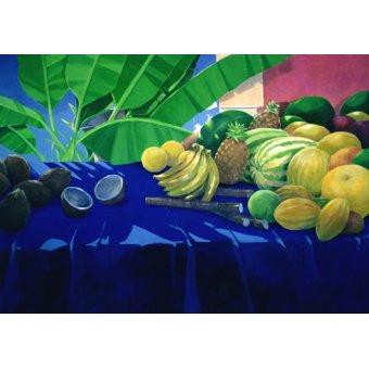 Tableaux nature morte - Tableau - Tropical Fruit - - Seligman, Lincoln