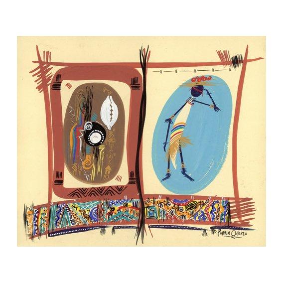 Tableau - Element of Black culture, 2005 -