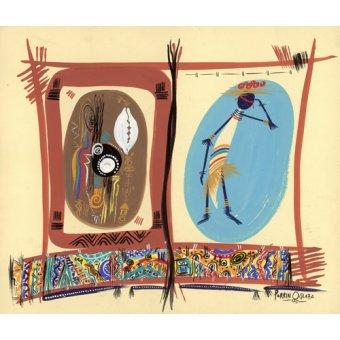 Tableaux orientales - Tableau - Element of Black culture, 2005 - - Perrin, Oglafa Ebitari