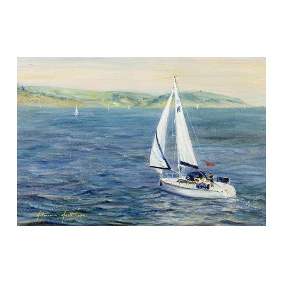 Tableau - Sailing Home, 1999 -