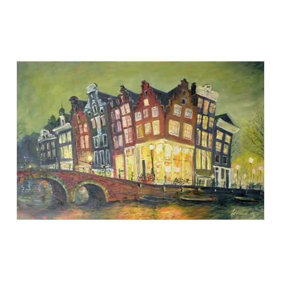 Tableau - Bright Lights, Amsterdam, 2000 -