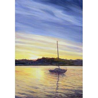 Tableaux de paysages marins - Tableau - Boat at Rest, 2002 - - Myatt, Antonia