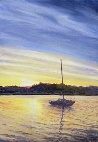 tableaux-de-paysages-marins - Tableau - Boat at Rest, 2002 - - Myatt, Antonia
