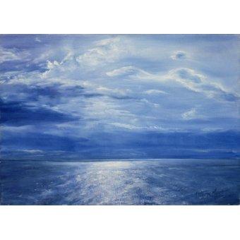 Tableaux de paysages marins - Tableau - Deep Blue Sea, 2001 - - Myatt, Antonia