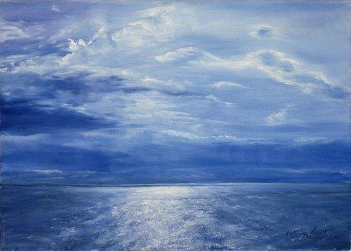 tableaux-de-paysages-marins - Tableau - Deep Blue Sea, 2001 - - Myatt, Antonia