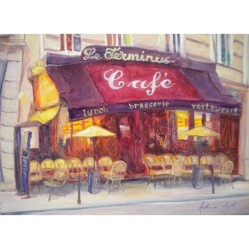 Tableau - Cafe le Terminus, 2010 -