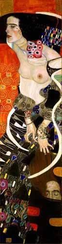 tableaux-de-personnages - Tableau -Judith 2 (Salomé)- - Klimt, Gustav