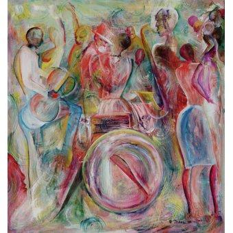 Tableaux abstraits - Tableau - New Orleans, 2006 - - Beckford, Ikahl
