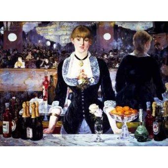 Tableau -Le bar des Folies Bergeres, 1881-