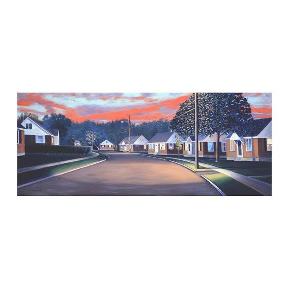 Tableau -Twilight Glow, 1997 (oil on canvas)-
