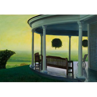 Tableaux de paysages - Tableau -Joshua on High, 1998 (oil on canvas)- - Arsenault, David