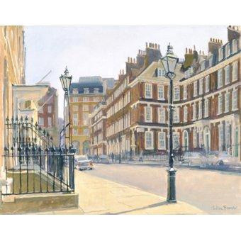 Tableaux modernes - Tableau -Queen Anne's Gate (oil on canvas)- - Barrow, Julian