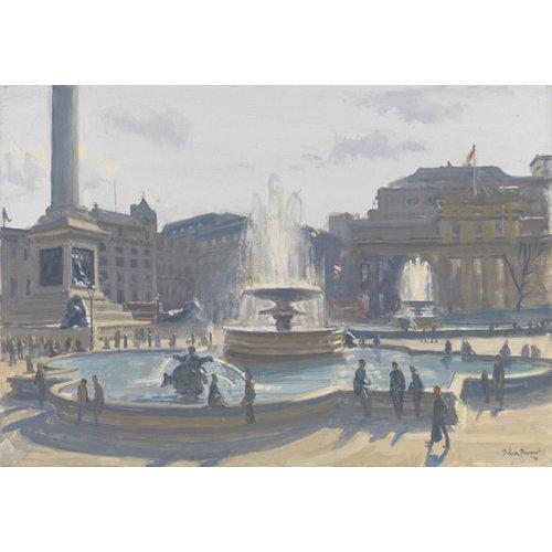 Tableau -Trafalgar Square, 2010 (oil on canvas)-