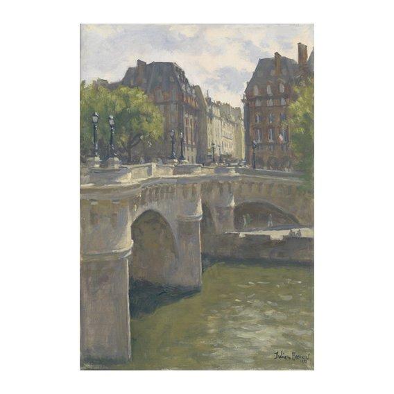 Tableau -Pont Neuf, 2010 (oil on canvas)-