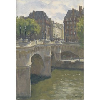 Tableaux modernes - Tableau -Pont Neuf, 2010 (oil on canvas)- - Barrow, Julian