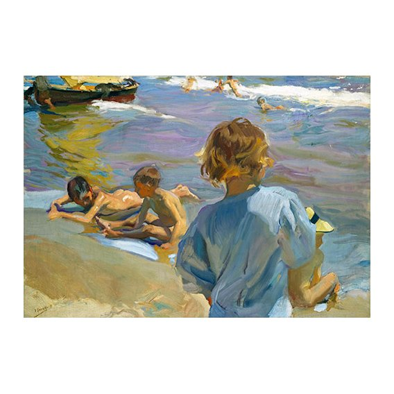Tableau - Enfants sur la plage, 1916 -