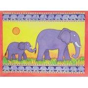 Tableau -Elephants-