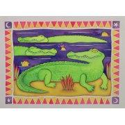 Tableau -Crocodiles-