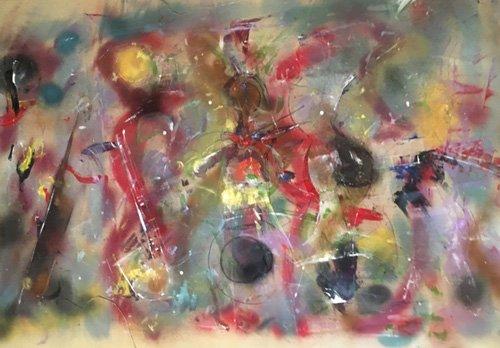 tableaux-abstraits - Tableau -Instrumental- - Beckford, Ikahl