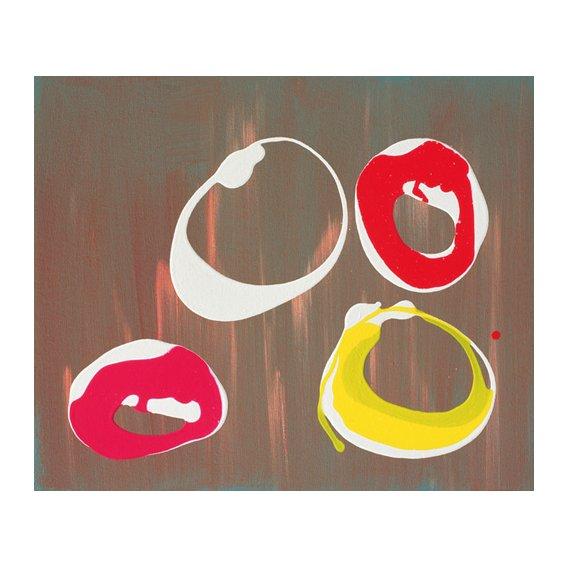Tableau-Young Flying Fish III, 1997 (acrylic on canvas)-