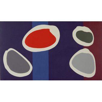 Tableaux abstraits - Tableau -Go Discs, 1999 (acrylic on canvas) (pair with 146091)- - Booth, Colin