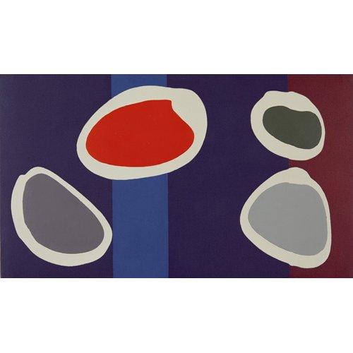 Tableau -Go Discs, 1999 (acrylic on canvas) (pair with 146091)-
