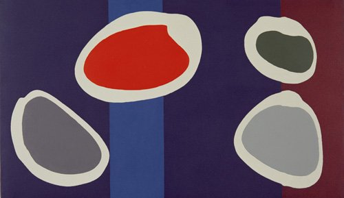tableaux-modernes - Tableau -Go Discs, 1999 (acrylic on canvas) (pair with 146091)- - Booth, Colin