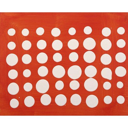 Tableau-Dot Matrix (acrylic on MDF board)-