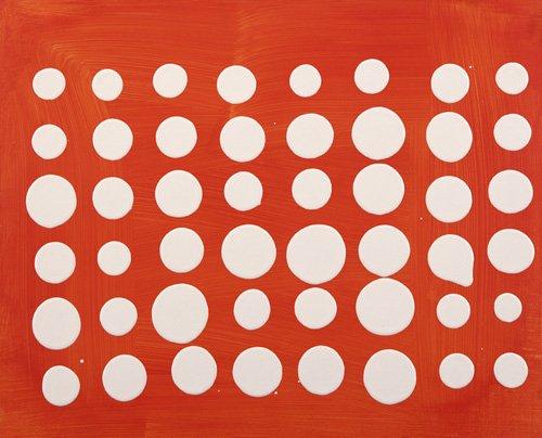 tableaux-modernes - Tableau-Dot Matrix (acrylic on MDF board)- - Booth, Colin