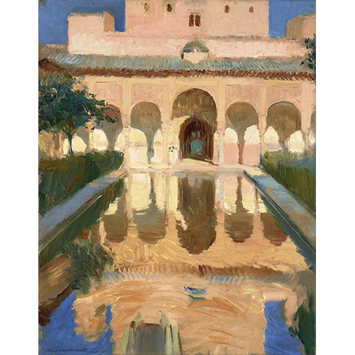 Tableau - Alhambra, Salon des Ambassadeurs, Grenade -