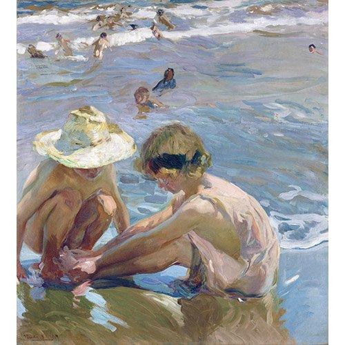 Tableau - Le pied blessé, 1909 -