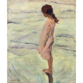 Tableaux pour enfants - Tableau - Après le coucher du soleil, 1907 - - Sorolla, Joaquin
