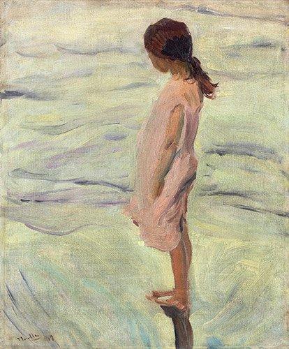tableaux-de-paysages-marins - Tableau - Après le coucher du soleil, 1907 - - Sorolla, Joaquin