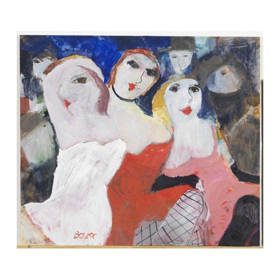 Tableau -Les Belles Dames, 2009 (oil on board)-
