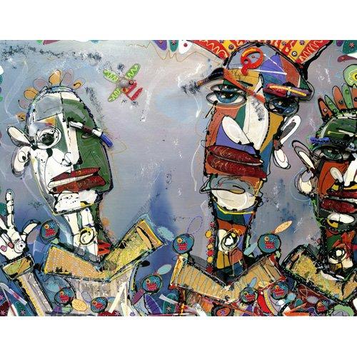 Tableau -Kraftwork, 2006 (mixed media)-