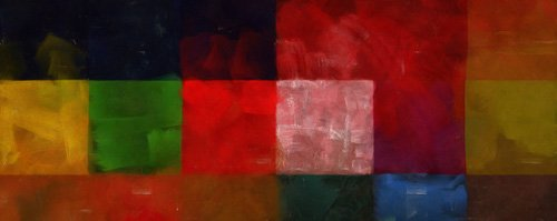 tableaux-modernes - Tableau -Connection 2,2017,(mixed media)- - Caminker, Alex