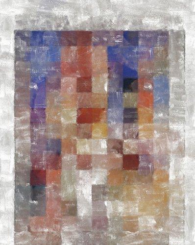 tableaux-modernes - Tableau -dimensions,2017,(mixed media)- - Caminker, Alex