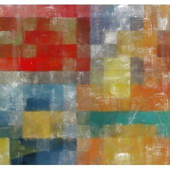 Tableaux abstraits - Tableau -as a flag,2017,(mixed media)- - Caminker, Alex