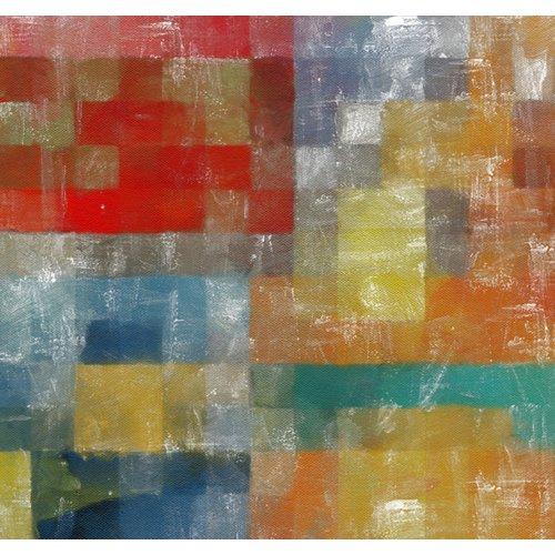 Tableau -as a flag,2017,(mixed media)-