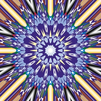 Tableaux modernes - Tableau -mandala,2019,(mixed media)- - Caminker, Alex