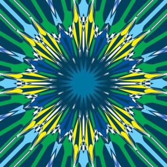 Tableaux modernes - Tableau -blue,2019,(mixed media)- - Caminker, Alex