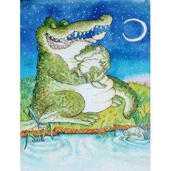 Tableaux pour enfants - Tableau -Crocodile Lullaby - - Christie, Maylee