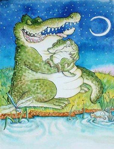 tableaux-pour-enfants - Tableau -Crocodile Lullaby - - Christie, Maylee