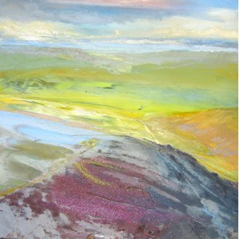 Tableaux abstraits - Tableau - Across the Valley, 2014 - - Decent, Martin