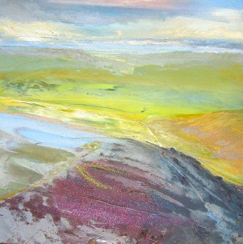 tableaux-modernes - Tableau - Across the Valley, 2014 - - Decent, Martin